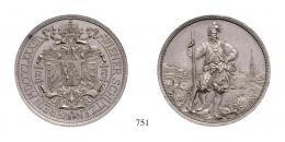 Ferenc József (1848-1916), 2 Forint, Ag, 1883, Wien<br>fast stempelfrisch
